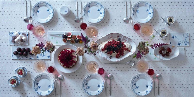 Royal-Copenhagen-Gedeckter-Tisch