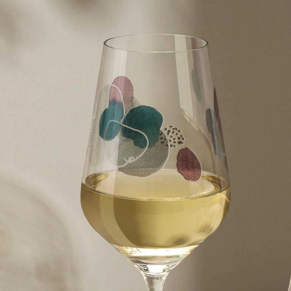 Sommerwendtraum Weissweinglas