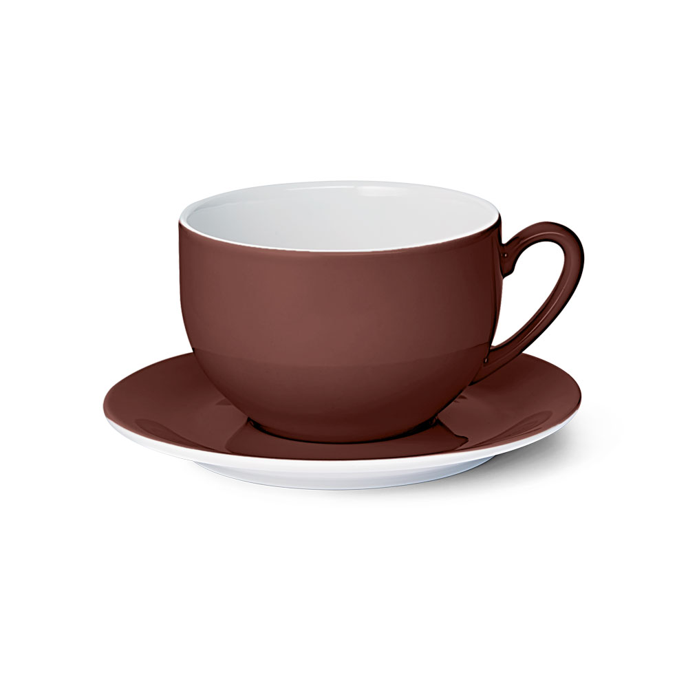 Solid Color / Kaffeebraun
