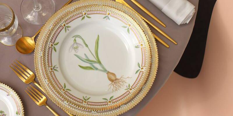 Flora-Danica-Tafel-Eindeckung-Ausschnitt