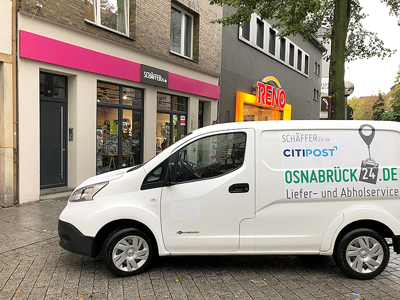 Abholung Ihres Einkaufs am Servicepoint Schäffer Am Kamp in Osnabrück