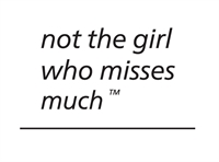 Not the girl