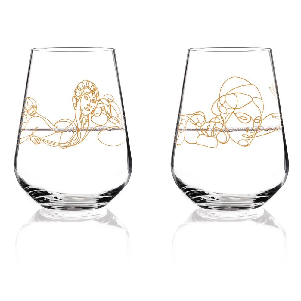 Weinschorleglas